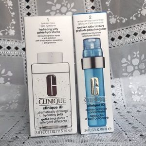 Clinique ID Hydrating Jelly and concentrate